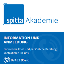 Magento Shop-Portal Spitta Akademie