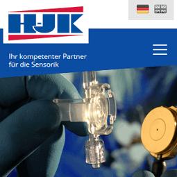 Typo3-Relaunch HJK Sensoren