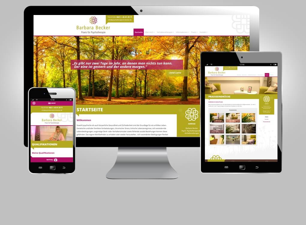 Responsive WordPress-Website