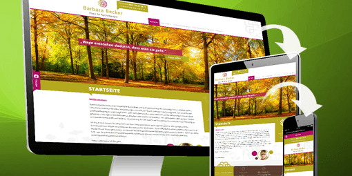 responsive webdesign fuer smartphone und tablet
