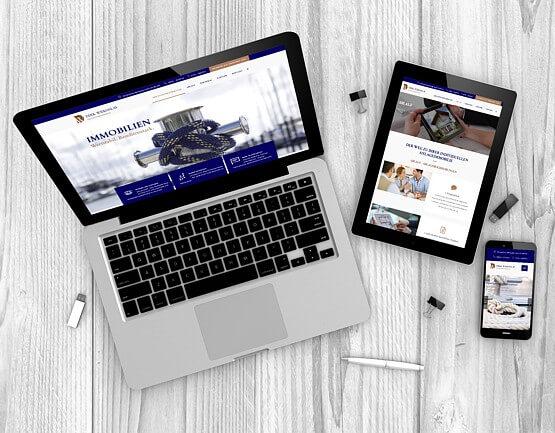 WordPress-Agentur Collage