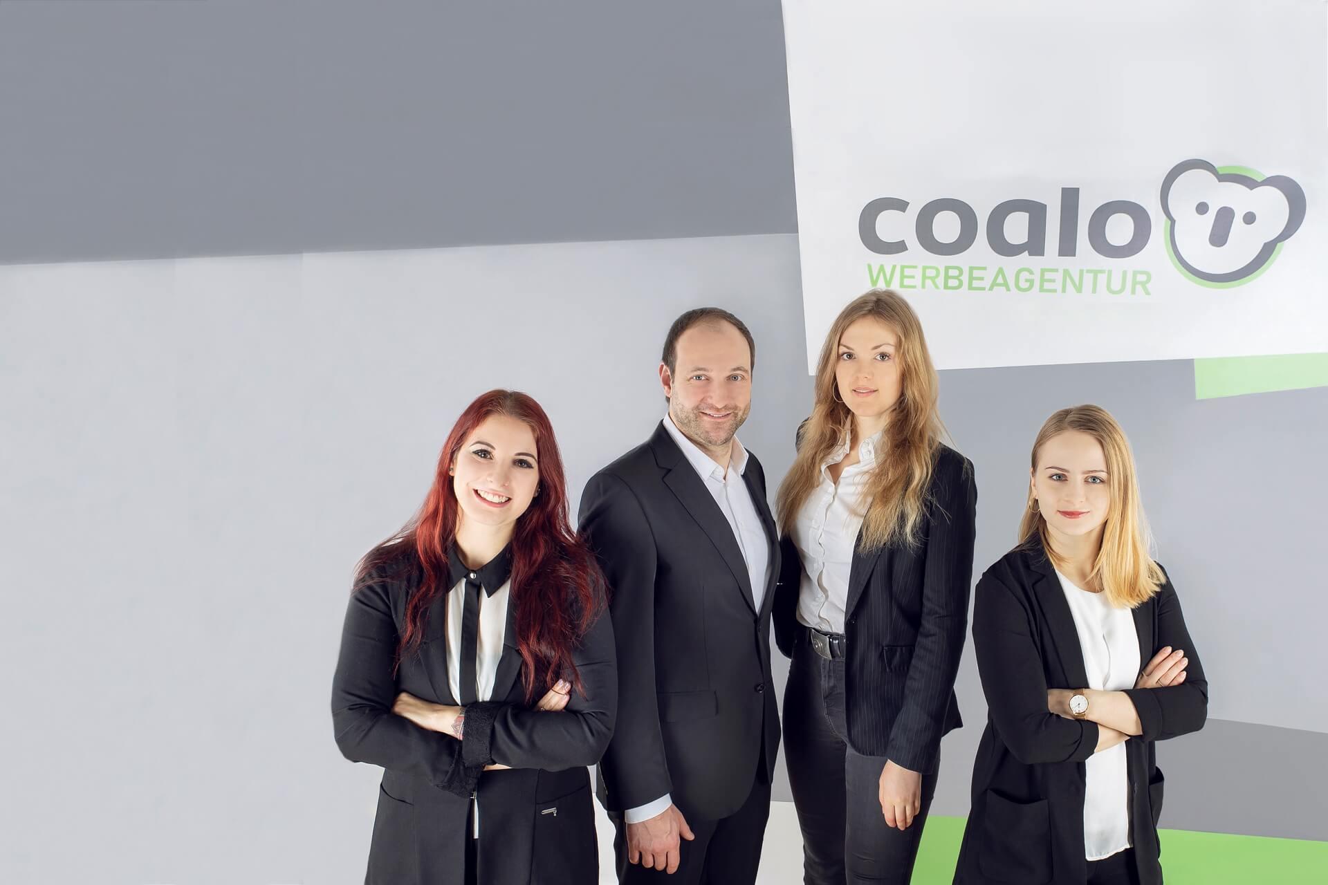 das Team der coalo Werbeagentur