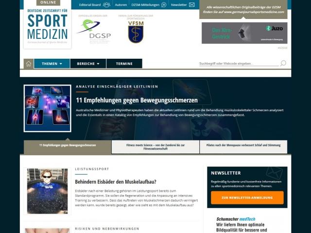 WordPress Themenportal Startseite