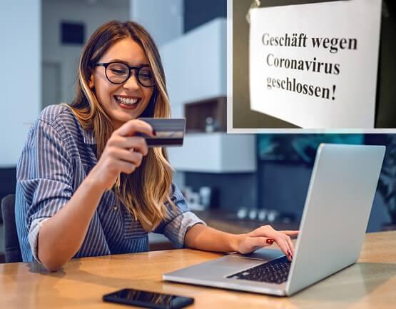 Online-Shopping in der Corona-Krise